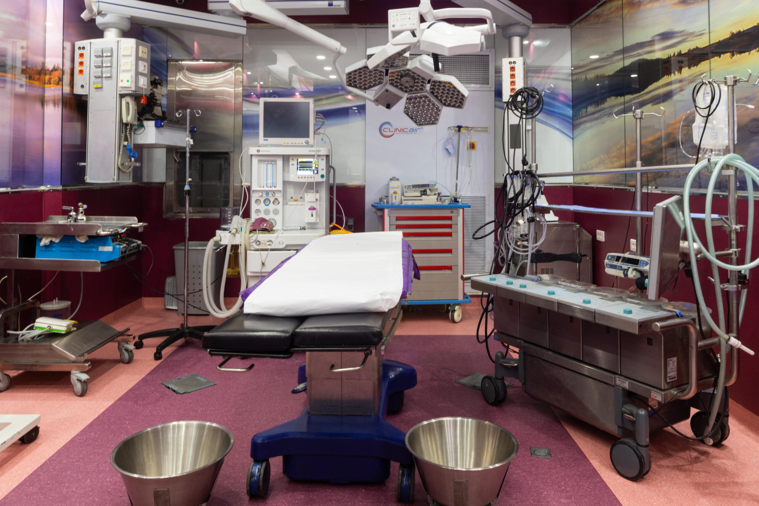 bloc opératoire cardiologique